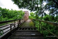 Carpenters Bluff Bridge Wagon Shelf