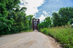 Carpenters Bluff Bridge Oklahoma Side