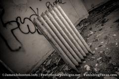 Abandoned Ornate Radiator