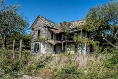 Abandoned Farm House in Bruceville-Eddy, Texas (Demolished)