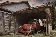 Abandoned Service Station and Truck in Italy, Texas -  ©James Nelms  used with Permission