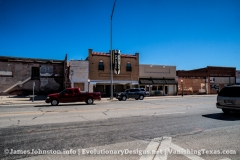 The Palace Theater in Anson, Texas