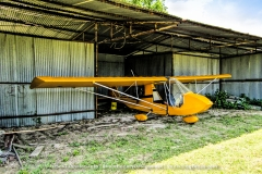 The Flying Tiger Airport & Flight Museum in Paris, Texas was once housed a great collection of retired old war birds and few other air planes. Years ago the owner closed the airport and museum  down and eventually sold or returned them to their owners.