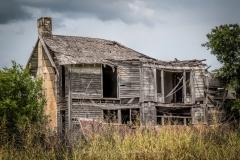 Abandoned Farm House East of Windom, Texas